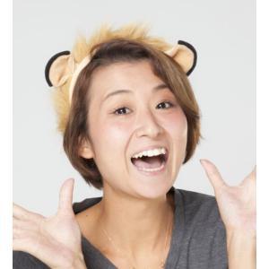 Animal カチューシャ(ライオン) イベント カチューシャ コスチューム コスプレ パーティ ライオン 衣装 宴会 仮装 動物の耳 oneesan