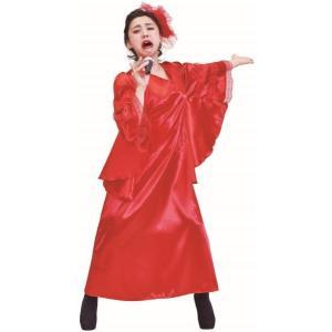 歌謡曲の女王 イベント コスチューム コスプレ パーティ パーティーグッズ ひばり 衣装 宴会 仮装 有名人 oneesan