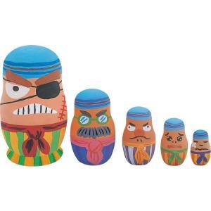 ウッデンドール おもちゃ マトリョーシカ まなび 学習 手作り 知育 知育玩具 木製玩具|oneesan