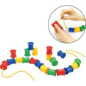 ボビンひもとおし おもちゃ まなび 学習 指先の練習 知育 知育玩具|oneesan