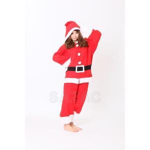 サンタクロース フリース着ぐるみ クリスマス コスチューム コスプレ 衣装 宴会 仮装|oneesan