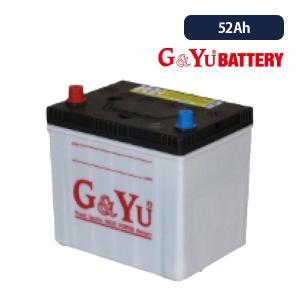G&Yuバッテリー 国産車用強力スターティングバッテリー ecobaシリーズ 80D23R(L) 52Ah/5時間率容量 ※複数台ご注文はメーカー直送代引・時間指定不可|onegain
