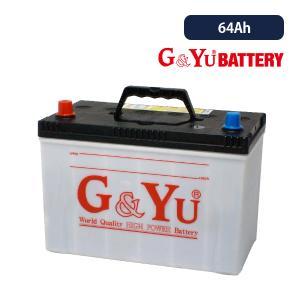 G&Yuバッテリー 国産車用強力スターティングバッテリー ecobaシリーズ 95D31R 64Ah/5時間率容量 ※複数台ご注文はメーカー直送代引・時間指定不可|onegain
