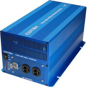 COTEK コーテック 正弦波インバーター/DC-ACインバーター SKシリーズ SK3000-148 出力3000W/電圧48V|onegain