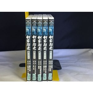 【中古品DVD】剣客商売 第4シリーズ 第1話〜第11話 全5巻セット※レンタル落ち