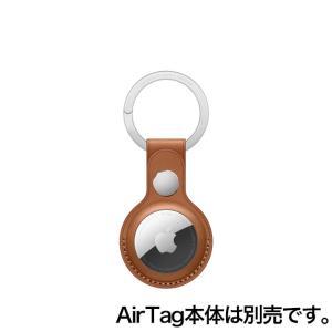 Apple AirTagレザーキーリング - サドルブラウン / MX4M2FE/A onemorething