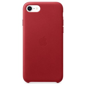 Apple iPhone SE2 / 8 / 7 レザーケース - (PRODUCT)RED / MXYL2FE/A|onemorething