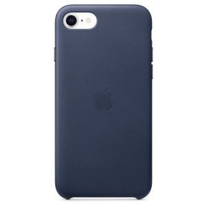Apple iPhone SE2 / 8 / 7 レザーケース - ミッドナイトブルー / MXYN2FE/A|onemorething