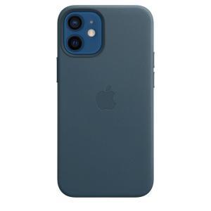 Apple MagSafe対応 iPhone 12 mini レザーケース - バルティックブルー / MHK83FE/A|onemorething