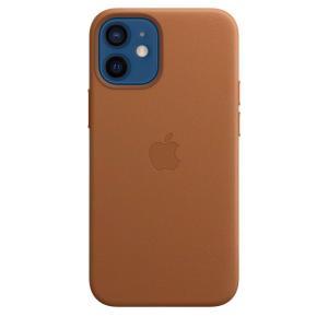 Apple MagSafe対応 iPhone 12 mini レザーケース - サドルブラウン / MHK93FE/A|onemorething