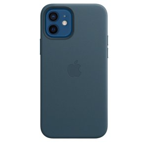 Apple MagSafe対応 iPhone 12 | iPhone 12 Pro レザーケース - バルティックブルー / MHKE3FE/A|onemorething