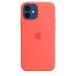 Apple MagSafe対応 iPhone 12 | iPhone 12 Proシリコーンケース - ピンクシトラス / MHL03FE/A|onemorething