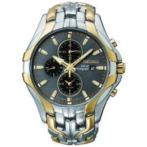 Seiko セイコー 腕時計 SSC138 Excelsior Solar クロノグラフ 日本製 ク...