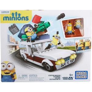 メガブロック MATTEL マテル MEGABLOKS ミニオンズ ステーションワゴン 188 ピース CNF56 ブロック 知育玩具 おもちゃ プレゼント|oneofakind