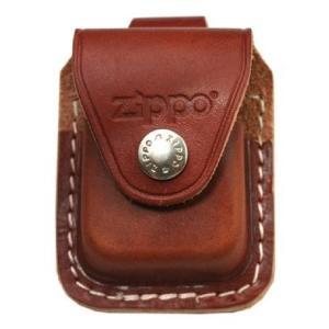 ジッポー ライター Zippo レザー 革 ケース ループタイプ ブラウン LPLB レギュラーサイズ 専用革ケース|oneofakind