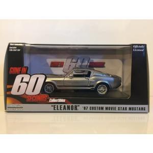 グリーンライト Greenlight 1/43 1967 フォード マスタング エレノア 60セカンズ 2000 ミニカー|oneofakind