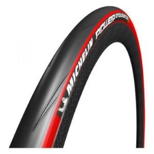 ミシュラン 自転車 タイヤ Michelin POWER endurance パワー エンデュランス クリンチャー ロードタイヤ 700×23c レッド 自転車 送料無料|oneofakind