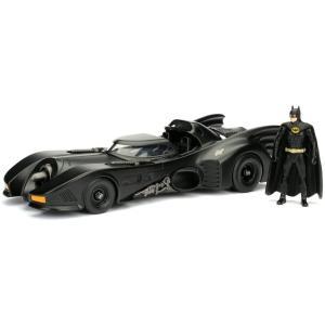 ジャダトイズ ジェイダトイズ JADA TOYS 1989 BATMOBILE & BATMAN 1:24スケール 1989 バットモービル バットマンフィギュア 送料無料|oneofakind
