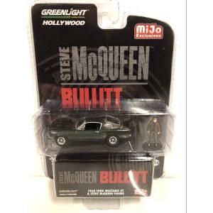 グリーンライト Greenlight フォード マスタング 1968 Ford Mustang GT スティーブマックイーン Steve McQueen 1/64 51207 ダイキャストモデルカー 送料無料|oneofakind