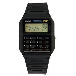 カシオ スタンダード CASIO STANDARD 腕時計 時計 メンズ CA-53W-1Z ブラック 逆輸入モデル デジタル 電卓付き 送料無料 プレゼント|oneofakind