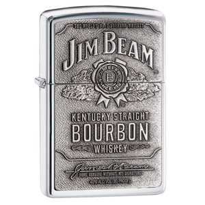 Zippo ジッポー Jim Beam Pewter Emblem ジムビーンジッポ  250JB928 オイルライター|oneofakind
