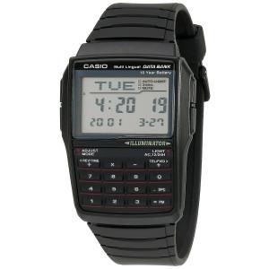CASIO カシオ データバンク 腕時計 DBC32-1A 逆輸入品 1/100秒ストップウォッチ LEDライト付 マラソン ランニング デジタル|oneofakind