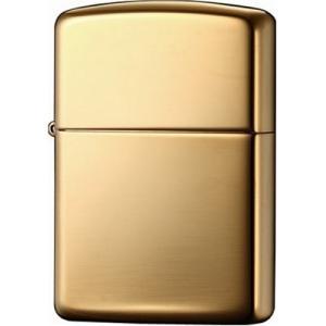 ジッポー ライター ZIPPO アーマー ハイポリッシュブラス 真鍮無垢 鏡面仕上げ オイルライター ゴールド 169 シンプル 刻印|oneofakind