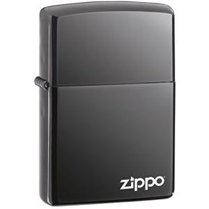 ZIPPO ジッポー ライター 150ZL ブラックアイス ZIPPOロゴ FULL SIZE ZIPPO LIGHTER ジッポライター|oneofakind