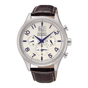 SEIKO セイコー ビッグデイト クロノグラフ メンズ 腕時計 100m防水 SPC155P1 海外モデル 男性用 腕時計 ウォッチ|oneofakind