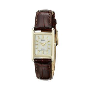 セイコー Seiko 腕時計 Analog Display Watch SUP252 アナログ レディース 女性用 ウォッチ 日本製 クオーツ ブラウン 海外モデル|oneofakind