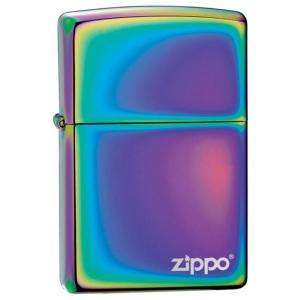 ジッポー ライター ZIPPO ジッポ オイルライター 151ZL Spectrum スペクトラム PVD加工 虹色 ZIPPOロゴ FULL SIZE ZIPPO LIGHTER|oneofakind