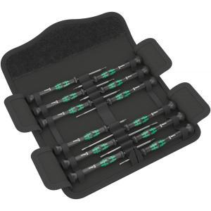 ヴェラ Wera マイクロドライバーセット 12SB 073675 工具 コンパクト 携帯ケース 精密ドライバー|oneofakind