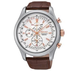 セイコー SEIKO アラームクロノグラフ SPC129P1 海外モデル クオーツ メンズ 腕時計 日付 曜日|oneofakind