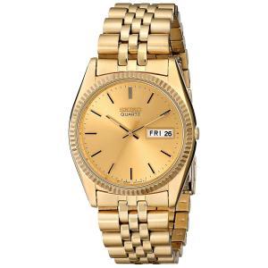 セイコー SEIKO 腕時計 時計 メンズ SGF206  オールゴールド クォーツ 男性用 ウォッチ 時計 日付 曜日 カレンダー 送料無料 プレゼント|oneofakind