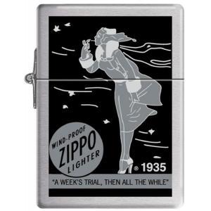 ジッポー ライター ZIPPO ジッポ オイルライター 1935.25 Replica Windy レプリカ ライター ウィンディ モノクロ oneofakind