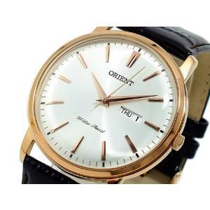 オリエント ORIENT メンズ 腕時計 FUG1R005W6 キャピタル コレクション CAPITAL COLLECTION 男性用 クラシック クオーツ カレンダー機能 レザーバンド|oneofakind