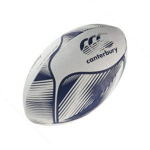 カンタベリー ラグビーボール CANTERBURY  練習用5号 Rugby Ball ブルー Vapor Blue 高校生用 社会人用|oneofakind