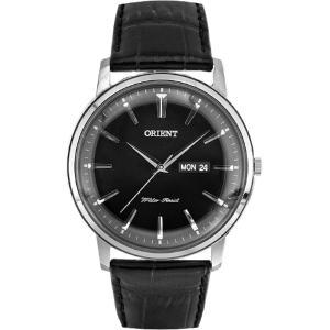 オリエントT ORIENT 腕時計 時計 FUG1R002B6 メンズ レザー ブラック シンプル アナログ表示 クオーツ 日付 送料無料 プレゼント|oneofakind