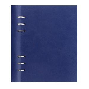 ファイロファックス filofax システム手帳 クリップブック A5 ネイビー 26018 ノートブック 月間予定表 年間予定表 レザー調ポリウレタン ペンホルダー|oneofakind