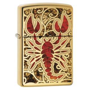 ジッポー ライター ZIPPO Animal アニマル ライター 29096 High Polish Brass オイルライター USA Scorpion さそり|oneofakind