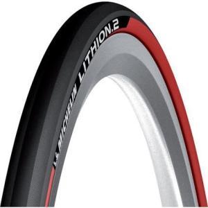 ミシュラン タイヤ MICHELIN リチオン2 V2 Lithion2 クリンチャータイヤ 700c レッド 700×23c 自転車 タイヤ 送料無料 プレゼント|oneofakind