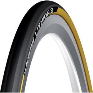 ミシュラン タイヤ MICHELIN リチオン2 V2 Lithion2 クリンチャータイヤ 700c イエロー 700×23c 自転車 タイヤ 送料無料 プレゼント|oneofakind