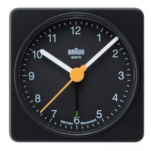 ブラウン BRAUN 目覚まし時計 アラーム クロック BNC002BKBK コンパクト シンプル ブラック アナログ 置き時計 送料無料 プレゼント oneofakind