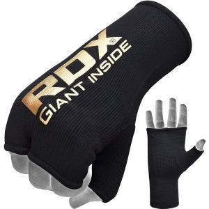 RDX 簡単 バンテージ インナーグローブ ボクシング 格闘技 ムエタイ MMA Mサイズ ブラック...