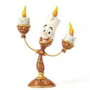 ディズニー Enesco エネスコ Disney Traditions Lumiere Figurine 4049620 ルミエール 美女と野獣 置物 フィギュア 人形 彫刻|oneofakind