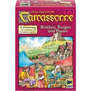 カルカソンヌ の拡張セットです。  バザール・橋の評価はイマイチ?しかし城は大きく戦況を変える力があ...