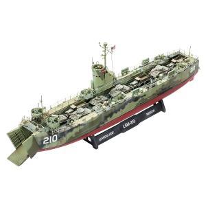 Revell ドイツレベル 1/144 アメリカ海軍 LSM 05123 プラモデル 艦船     ...