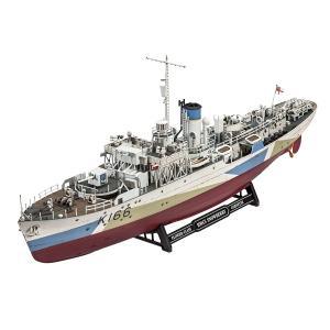 レベル ドイツレベル Revell 1/144 フラワー級コルベット HMCSスノーベリー プラモデル 05132 艦船 軍艦|oneofakind
