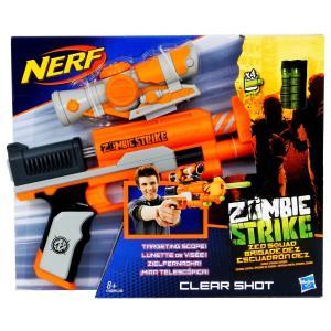 ナーフ Nerf Zombie Strike Clear Shot ゾンビ ストライク クリアショット 片手ブラスト 銃 鉄砲 男の子向け プレゼント|oneofakind