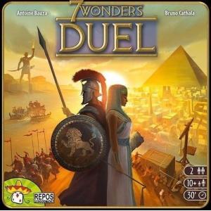 世界の七不思議 デュエル 7 Asmodee Wonders Duel ボードゲーム シンプル 英語版 戦略的なゲーム パーティーのゲーム|oneofakind